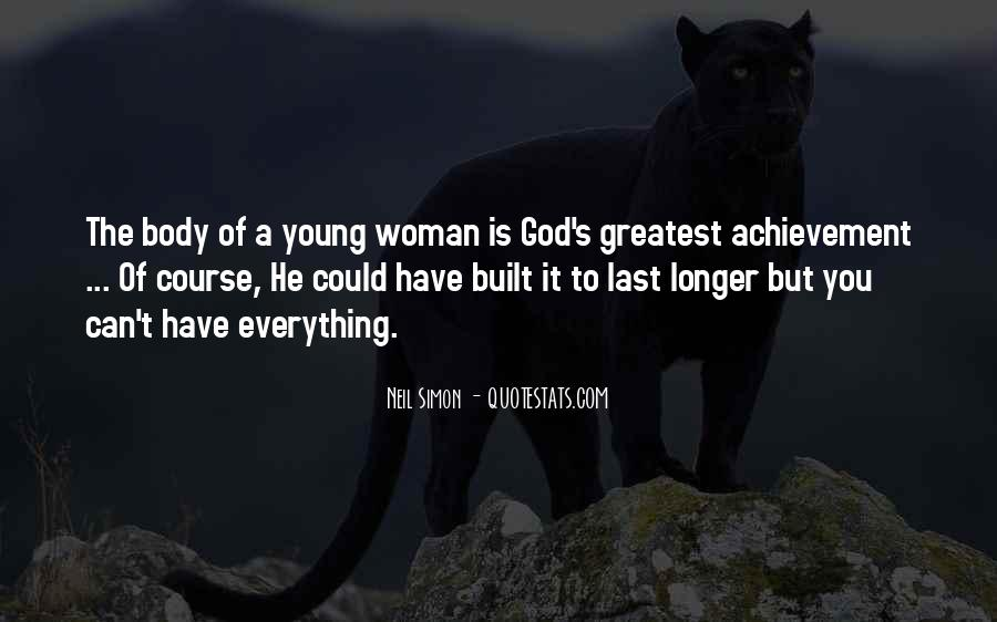 Quotes About Young Woman #243234