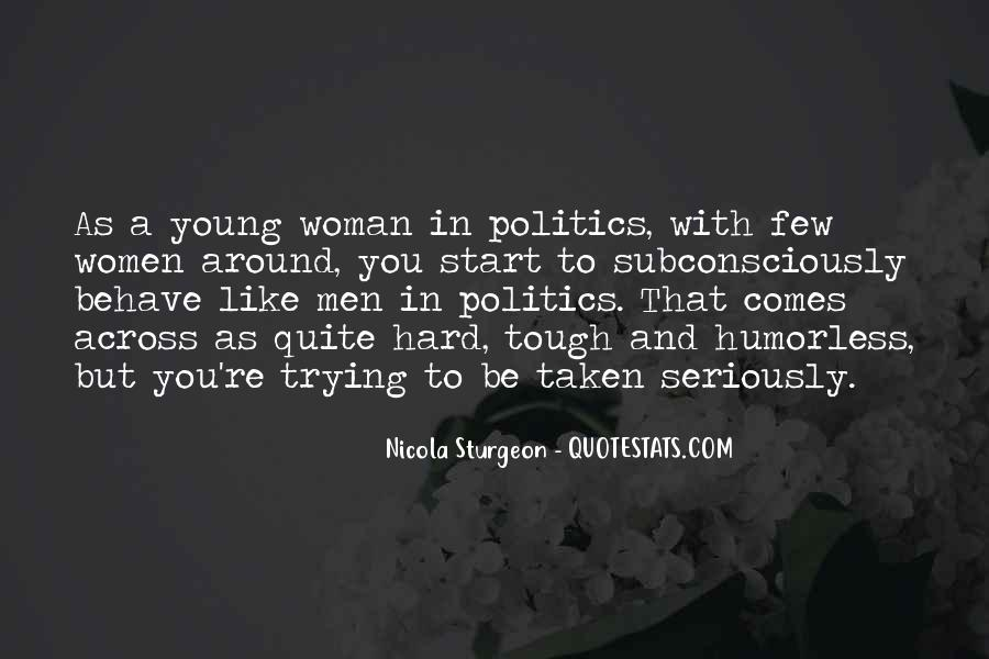 Quotes About Young Woman #274552