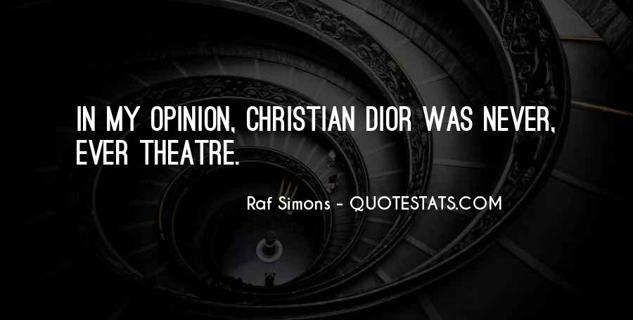Quotes About Dior #193227