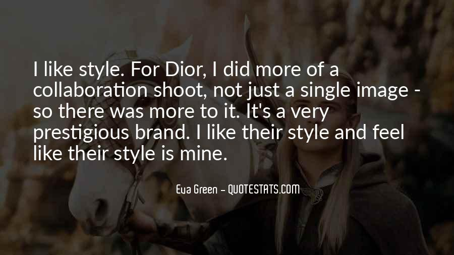 Quotes About Dior #955355
