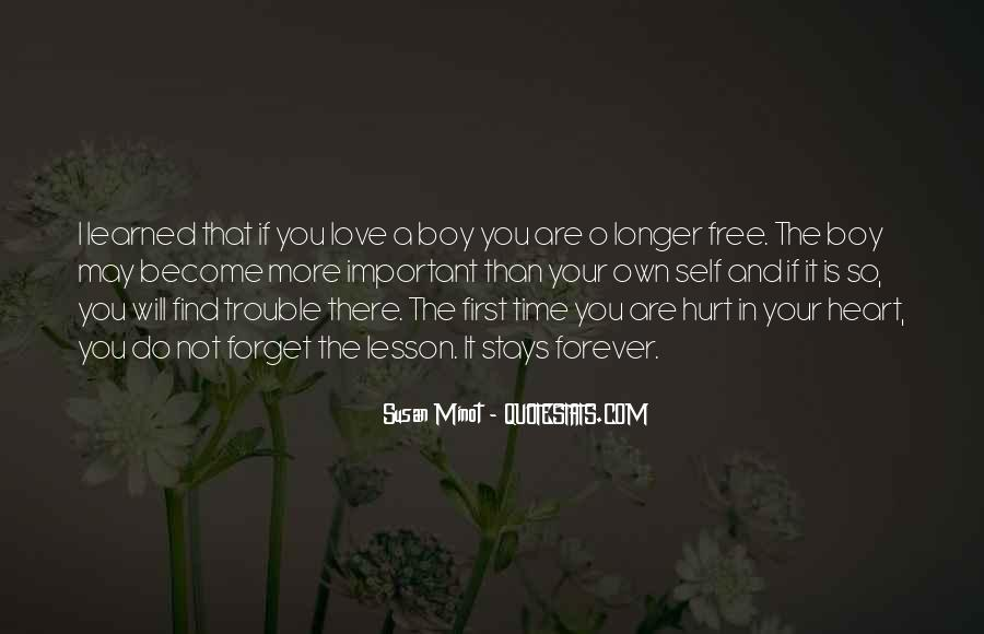 Quotes About First Love And Heartbreak #1174336