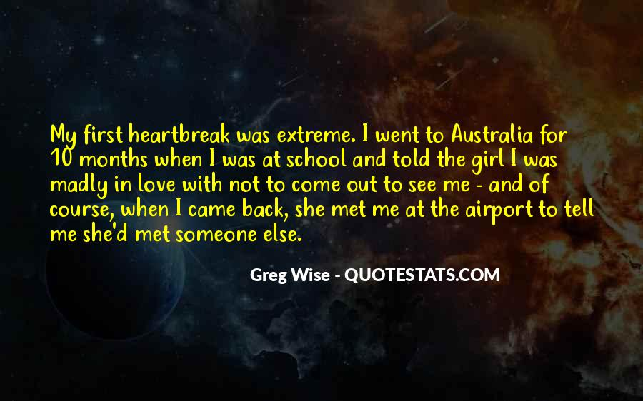 Quotes About First Love And Heartbreak #1237795