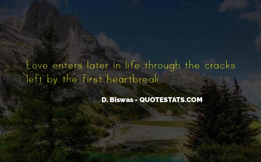 Quotes About First Love And Heartbreak #1343507