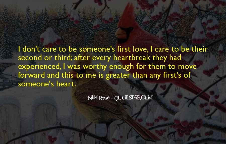 Quotes About First Love And Heartbreak #196143