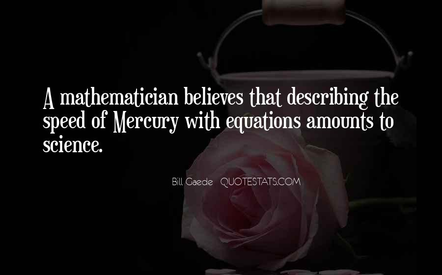 Quotes About Mathematical #100410