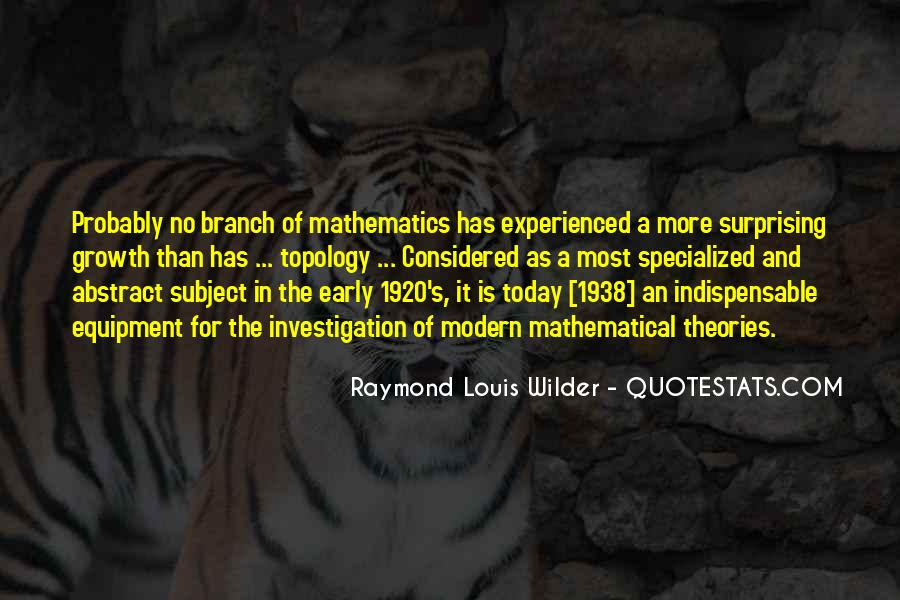 Quotes About Mathematical #100455