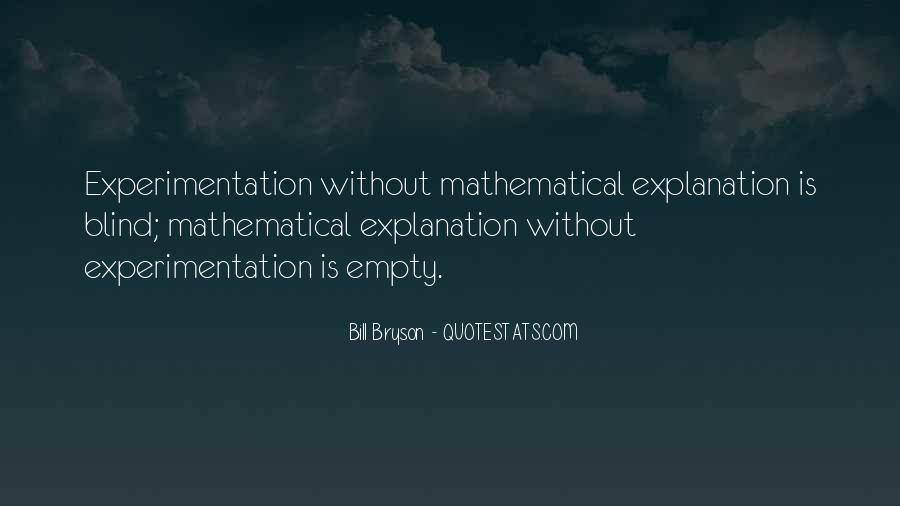 Quotes About Mathematical #101318