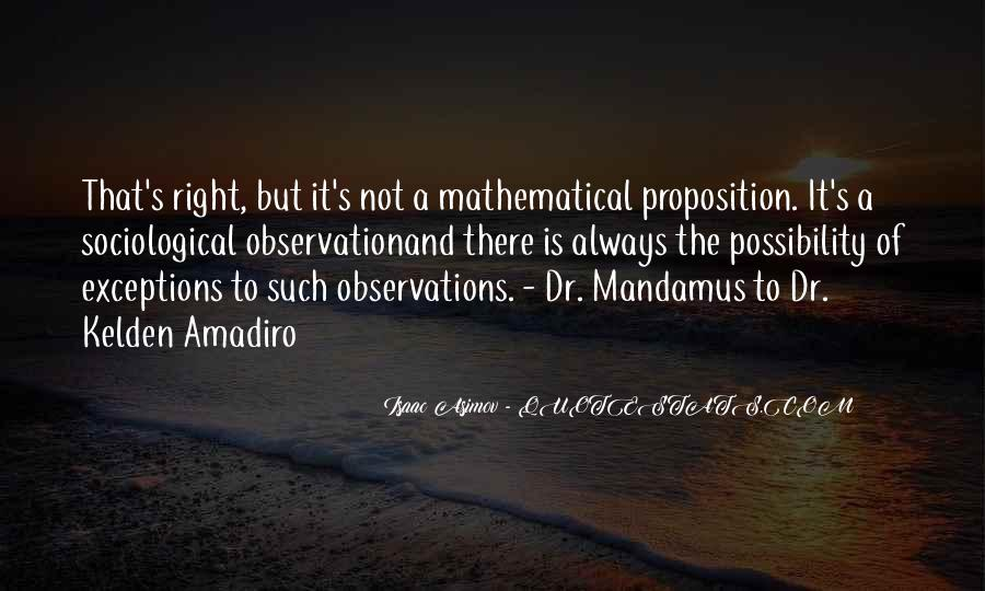 Quotes About Mathematical #155560