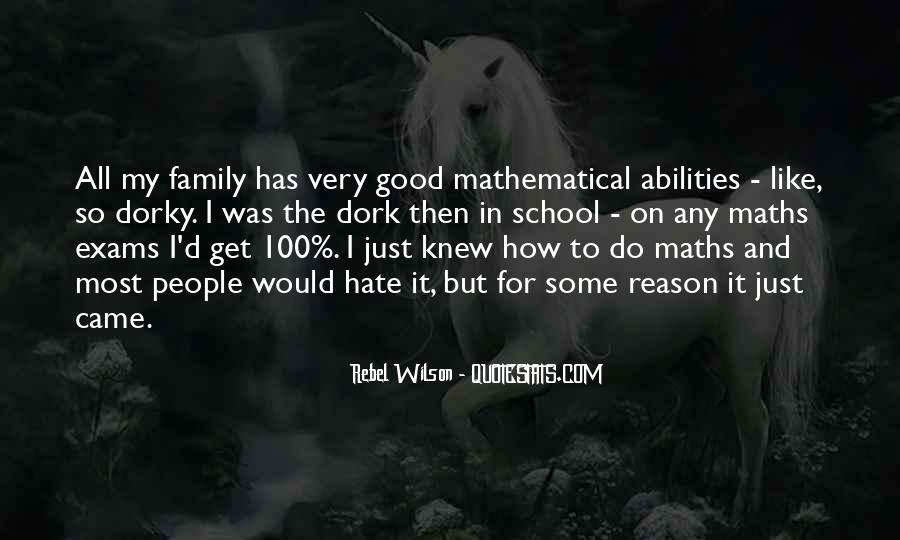 Quotes About Mathematical #16960