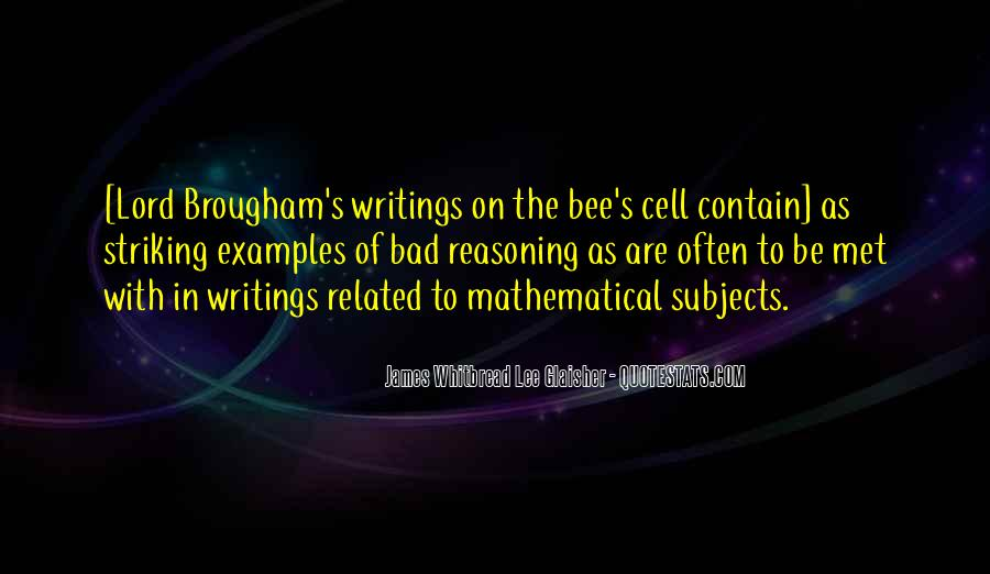 Quotes About Mathematical #188883