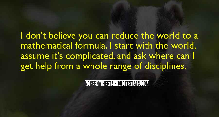 Quotes About Mathematical #24301