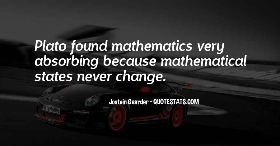 Quotes About Mathematical #25718