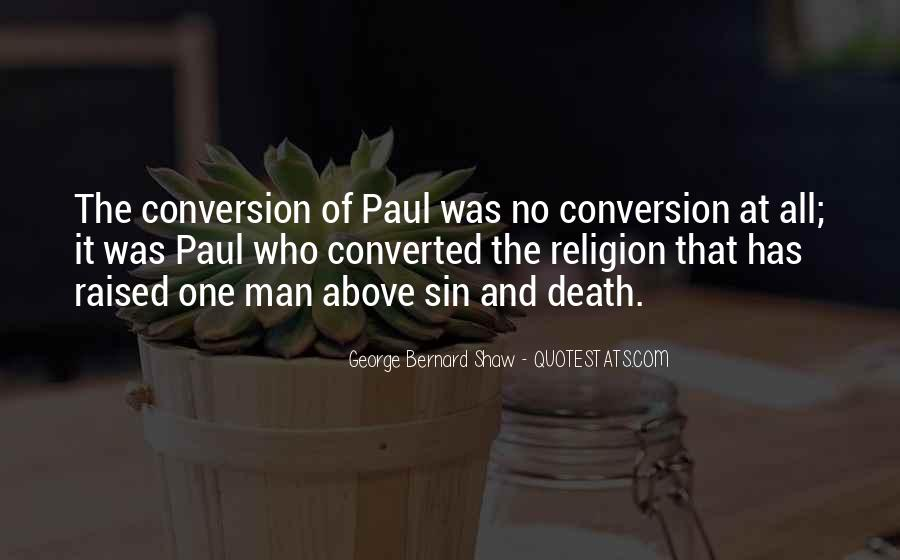 Quotes About Conversion Of St. Paul #777691