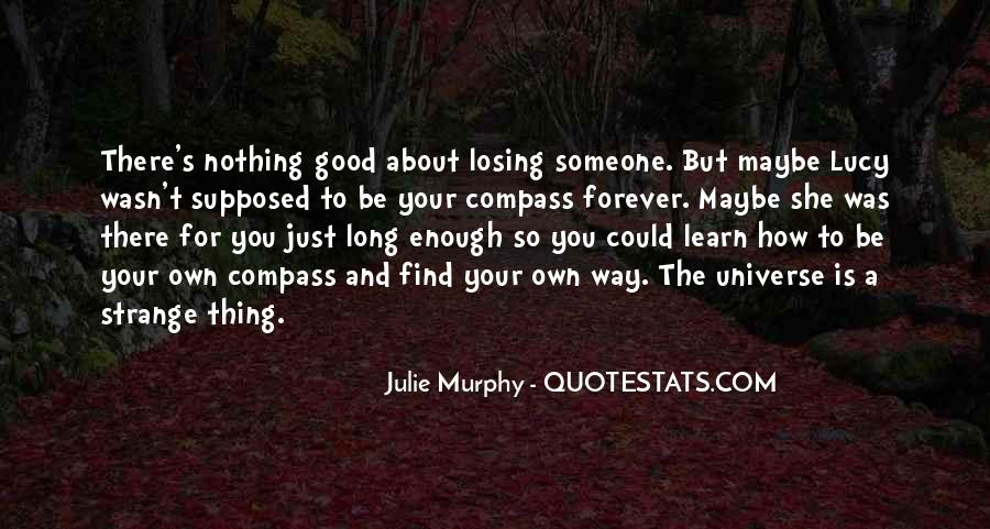 Quotes About Someone Losing You #918494