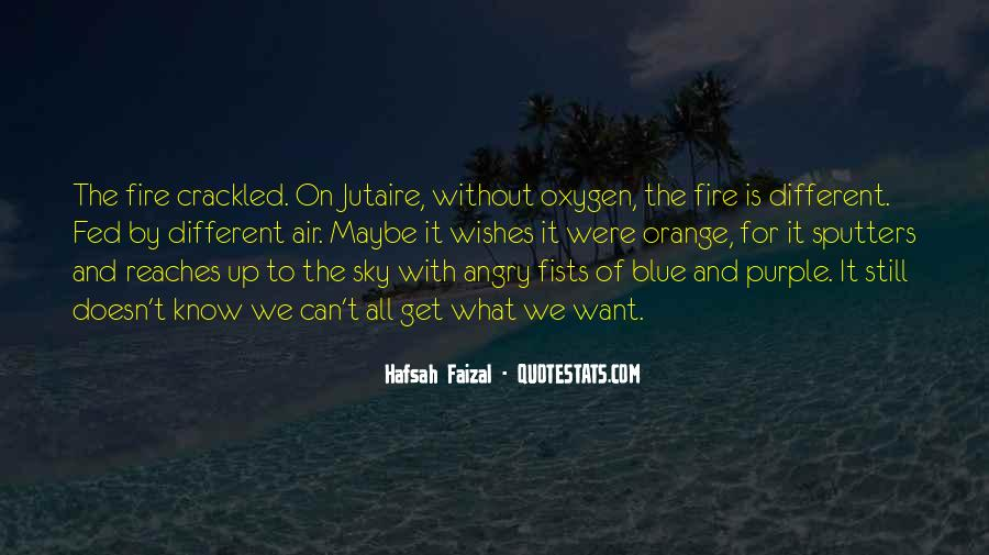 Quotes About Fire And Air #1705402
