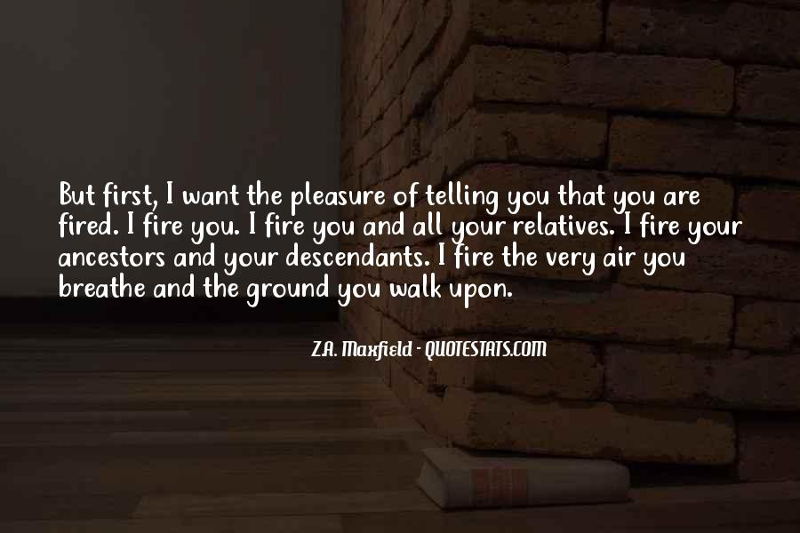 Quotes About Fire And Air #1782895