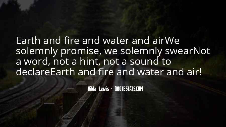 Quotes About Fire And Air #504267