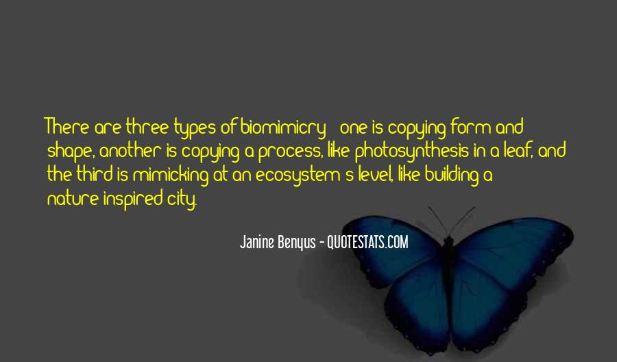 Quotes About Biomimicry #1020035
