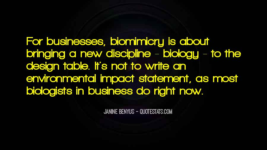 Quotes About Biomimicry #282839