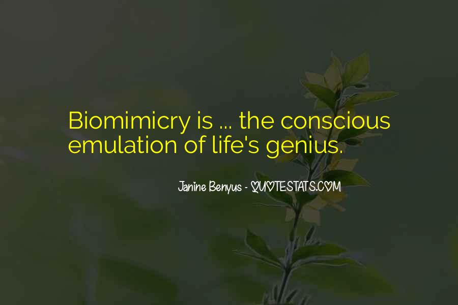 Quotes About Biomimicry #284655