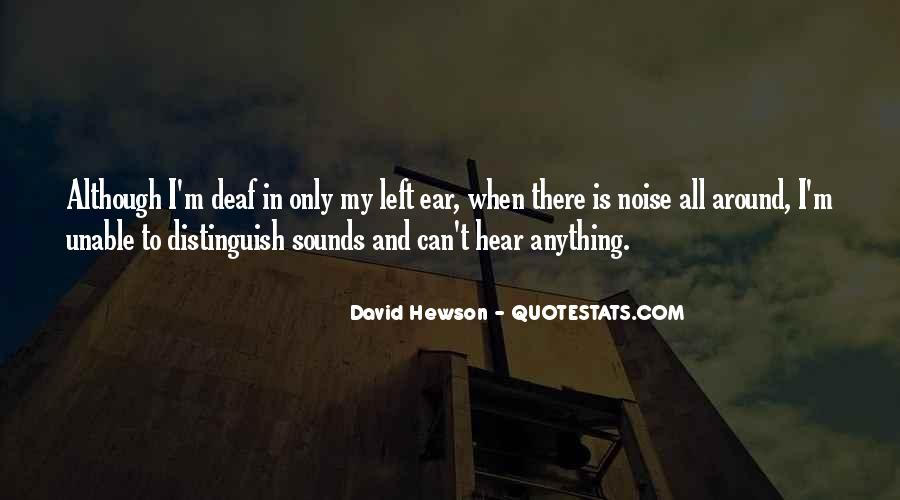 Quotes About Deaf #157423