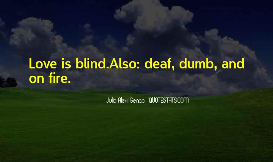 Quotes About Deaf #157884