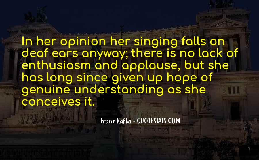 Quotes About Deaf #168896