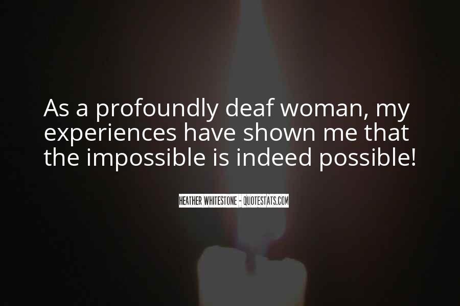 Quotes About Deaf #197431