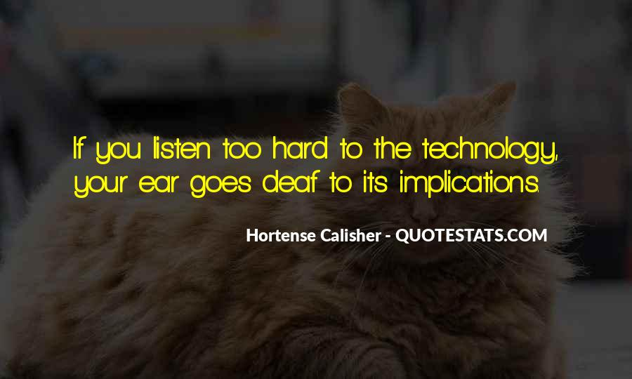 Quotes About Deaf #252526