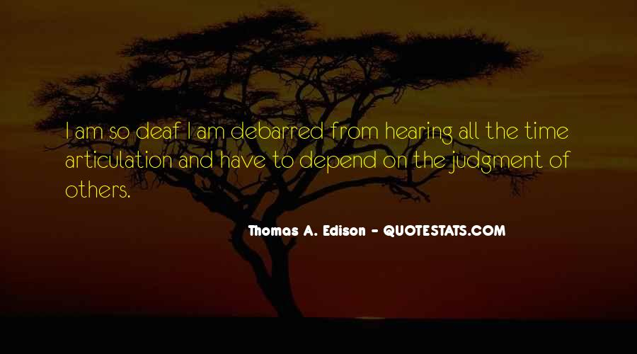 Quotes About Deaf #264848
