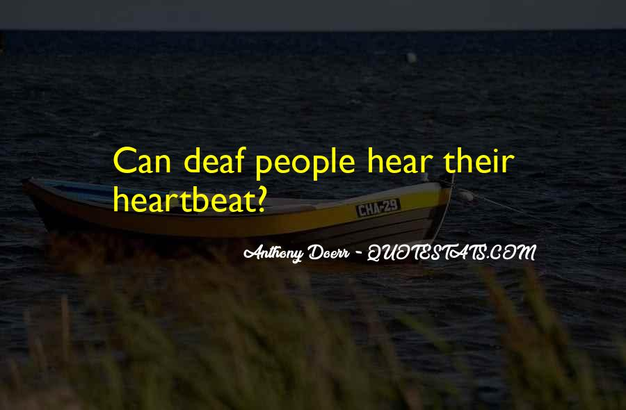 Quotes About Deaf #28610