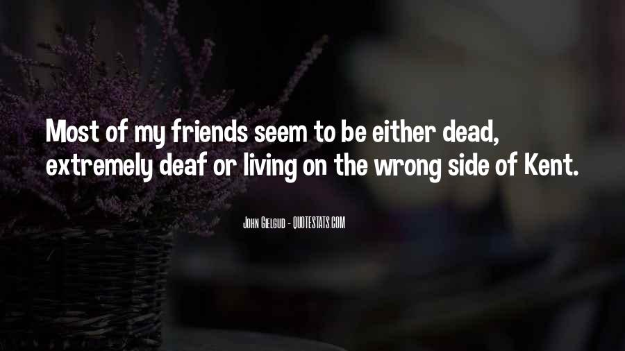 Quotes About Deaf #308569
