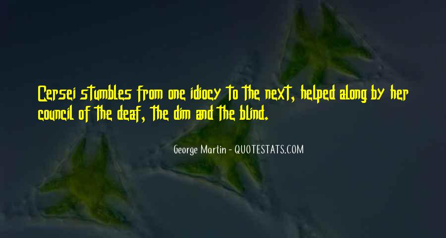 Quotes About Deaf #318954