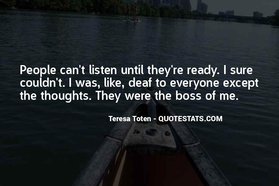 Quotes About Deaf #41885