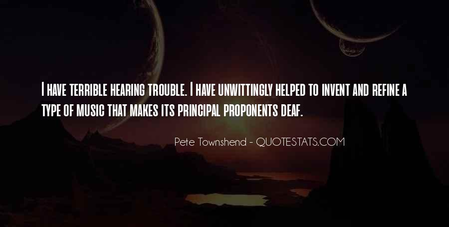 Quotes About Deaf #58815