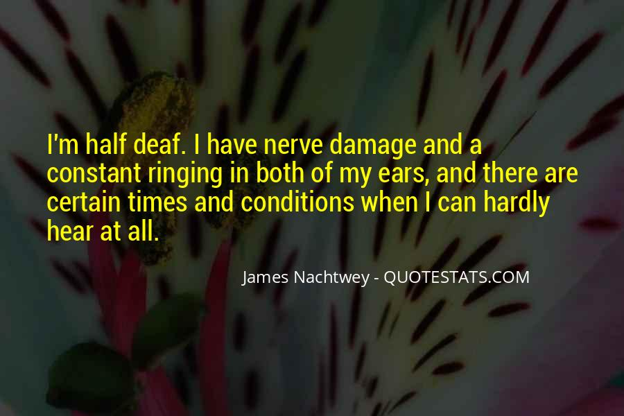 Quotes About Deaf #94718