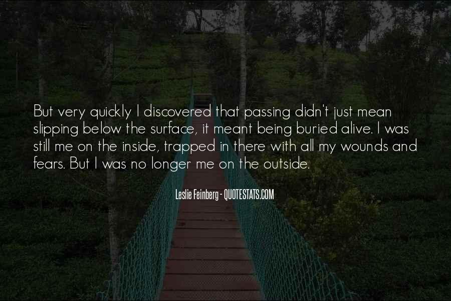 Quotes About Being Trapped In The Past #308039