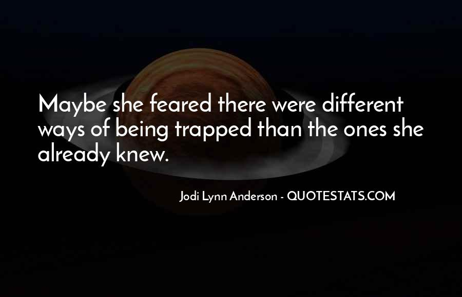 Quotes About Being Trapped In The Past #509675