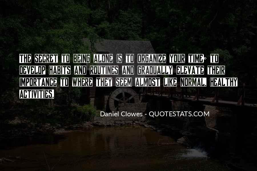 Quotes About The Importance Of Routines #73106