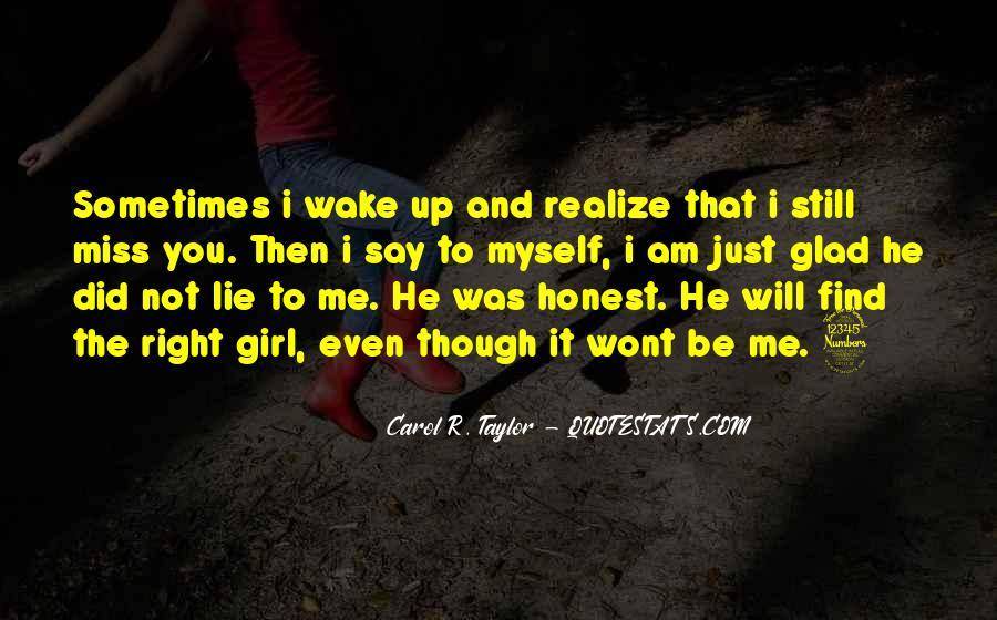 Quotes About A Girl You Miss #1055168