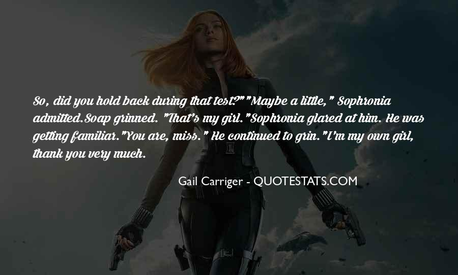 Quotes About A Girl You Miss #265865