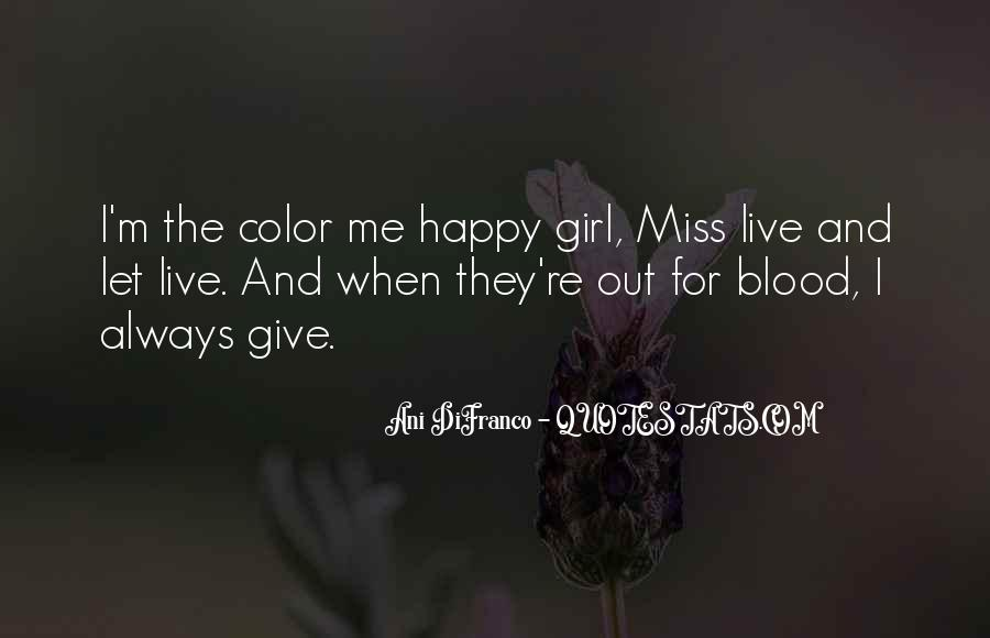 Quotes About A Girl You Miss #95911