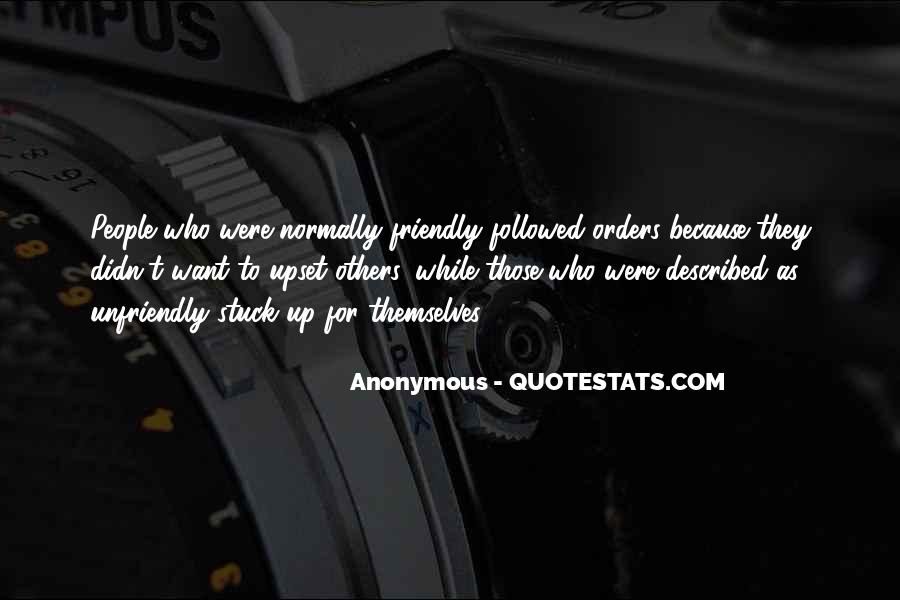 Quotes About Unfriendly #1084392