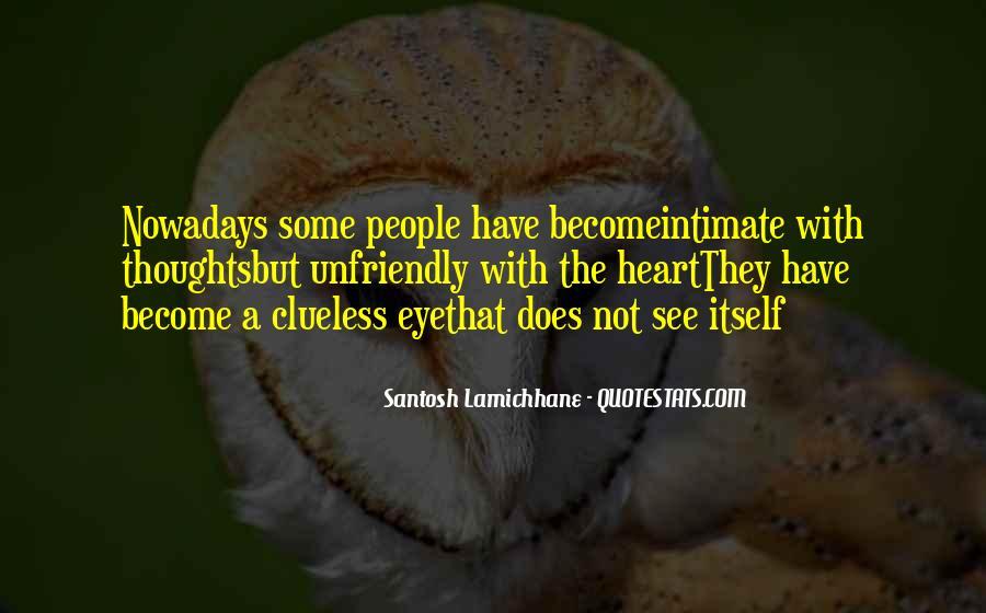Quotes About Unfriendly #1177127