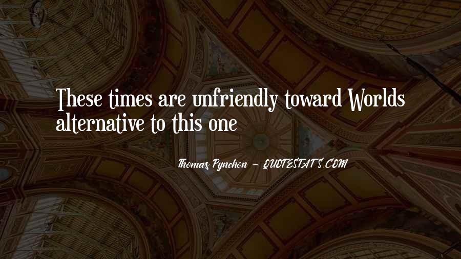 Quotes About Unfriendly #1805374