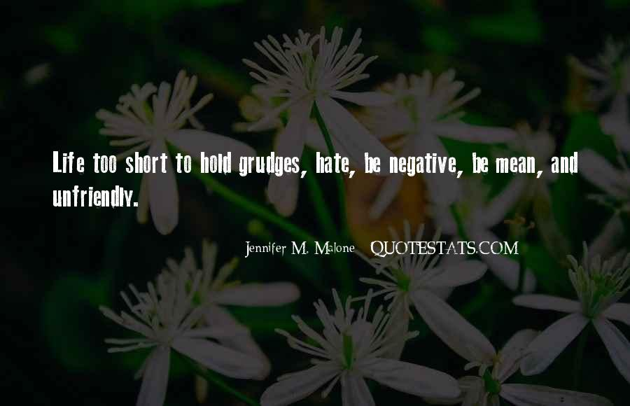 Quotes About Unfriendly #347244