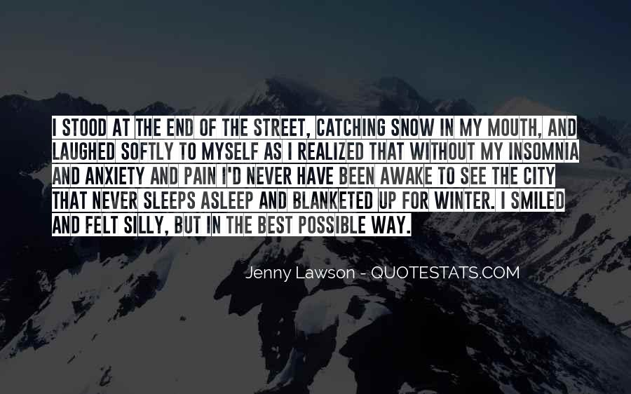 Quotes About Winter Without Snow #106829