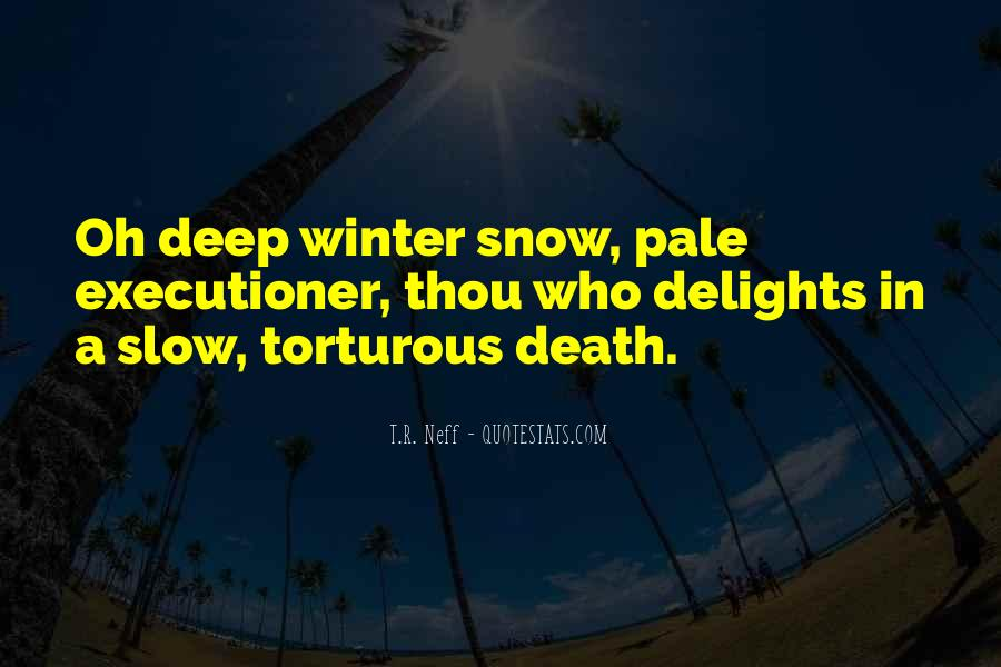 Quotes About Winter Without Snow #171824