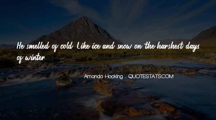 Quotes About Winter Without Snow #177765