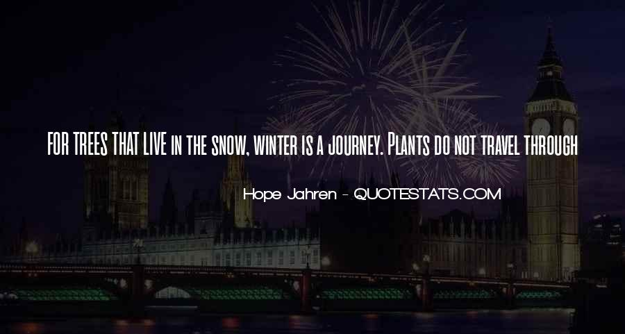 Quotes About Winter Without Snow #195477